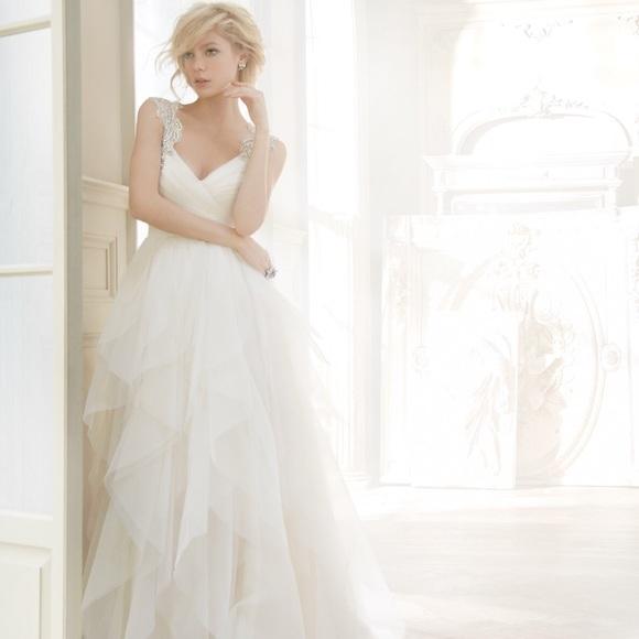 Hayley Paige Dresses Tall Bride Carrie Wedding Dress Poshmark